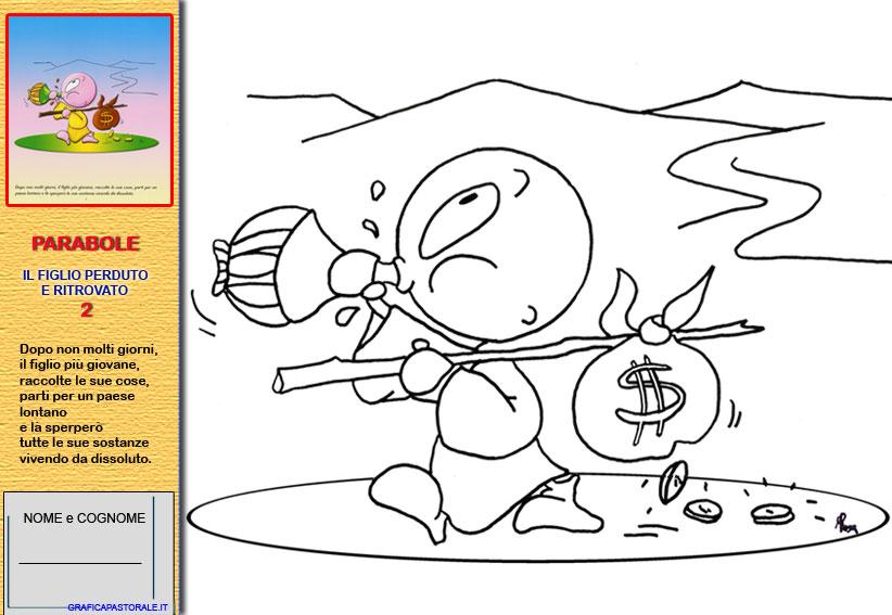Vignette suor m guerrini - Disegni in bianco per la colorazione ...